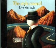 THE STYLE COUNCIL LIVE WITH STYLE CD RARO SEALED