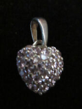 Silver Plated Cubic Zirconia Simulated Fine Jewellery