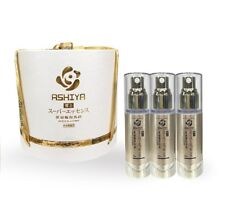 ASHIYA DOUBLE SUPER  ESSENCE  Premium EGF Anti-Aging  Nobel  Japan Set+Free GIFT