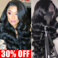 Glueless Body Wave Human Hair Lace Front Wig Brazilian Silk Base Full Lace Wig P