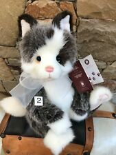 Rodders 2 Charlie Bears Plush Kitten Pussy Cat Collectable Teddy Bear