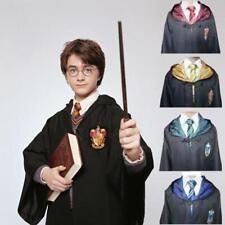 Mantello Harry Potter+Sciarpa+Cravatta+Hogwarts Grifondoro Serpeverde Cosplay
