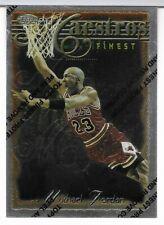Michael Jordan 1996-97 Topps Finest Silver Maestros #127 Uncommon
