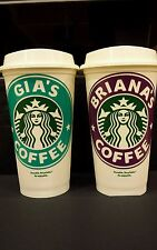 Starbucks  Personalized  Reusable  Coffee  Cup