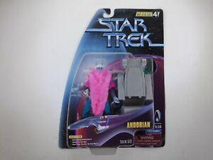 Star Trek Andorian Playmates Figure Warp Factor Series 4