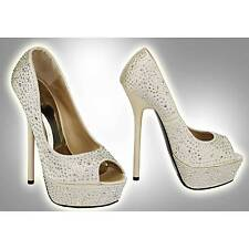 Bridal or Wedding Unbranded Women's Court Shoes