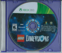 🔥🔥🔥 LEGO Dimensions (Microsoft Xbox 360, 2015) (Game Only) 🎮🎮🎮
