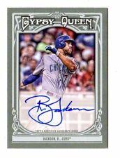 BRETT JACKSON MLB 2013 TOPPS GYPSY QUEEN AUTOGRAPHS (CHICAGO CUBS,DIAMONDBACKS)