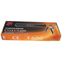 Auspresspistole Alurohrpresse eXcePt-600 für 310ml Kartuschen und Schlauchbeutel