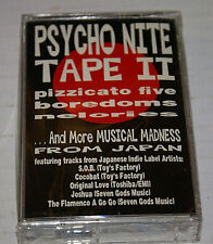 Psycho Nite II Musical Madness And More Japan Cassette SOB Boredoms Etc New OOP