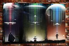 "Poster,Oil Painting HD Canvas Print/Modern Art Decorative Wall Star Wars 16""x24"""