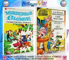 MORTADELLA E FILEMONE L'INSETTICIDA ATOMICO Edizioni Williams 1972 FUMETTO RARO