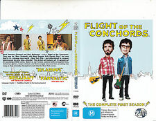 Flight of The Conchords-2007/9-TV Series USA-Complete First Season-2 Disc-DVD