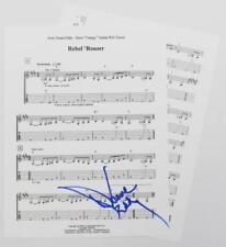 "DUANE EDDY Signed Autograph ""Rebel 'Rouser"" Sheet Music"