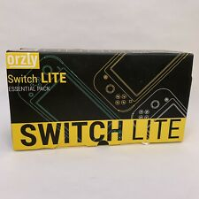 ORZLY Essential Pack for Nintendo Switch Lite - Black - Comfort Case New in Box