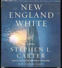 New England White by Stephen L. Carter (2007, Abridged, Compact Disc) Audiobook