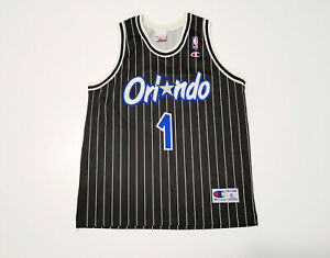 VINTAGE CHAMPION NBA BASKETBALL JERSEY ORLANDO MAGIC A. HARDAWAY SIZE XL
