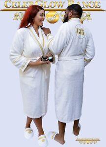 Customised Unisex Bath Set  Robes and Towels .