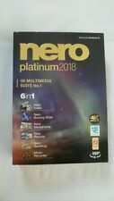 GENUINE Nero Platinum 2018 4K Multimedia Suite No. 1 6 in 1 For Windows