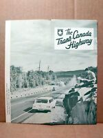 1967 Trans Canada Highway Vintage Travel Brochure Canadian Vacation Report