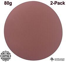 "Klingspor 20"" inch diameter Sanding Disc, 80 grit, 2 pk, Peel & Stick  Germany"