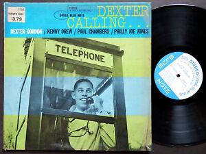 DEXTER GORDON Dexter Calling . . . LP BLUE NOTE 84083 US 1966 NY RVG Kenny Drew