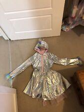 girls unicorn coat age 7-8 unicorn dress