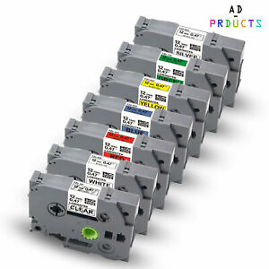 7x TZe-931 TZ-131-931 12mm Kompatible Schriftband für Brothe P-Touch H100LB H100