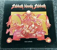 LP Black Sabbath: Sabbath Bloody Sabbath. UK 1st Press Vinyl  WWA005 Rock EX/EX