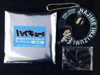 Haikyuu!! Haikyu YuraYura Acrylic Stand Key Chain armabianca Hajime Iwaizumi New
