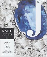Maier Horloger Joaillier France Brochure - Watch - Diamond - Cartier Rolex.