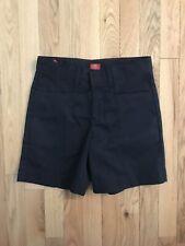 Dickies Shorts Girls Size 10 Navy Blue Adjustable Waist