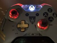 Limited Edition COD Advanced Warfare Xbox One Controller w LEDs Apex Black Ops