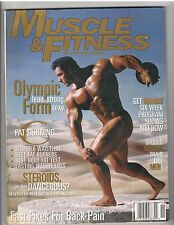MUSCLE & FITNESS bodybuilding magazine/Dennis Newman 11-96