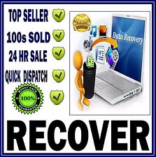 RECOVER RESCUE DATA FILES DATA MUSIC PHOTOS SOFTWARE RECOVERY DVD