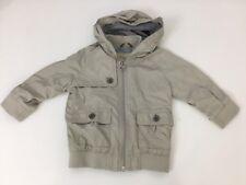 Burberry Baby Boys Jacket, Coat, Size 18 Months, 81cm, Beige, Vgc
