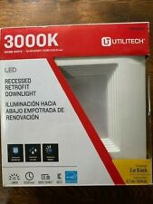 "UTILITECH #0831953 LED Recessed Retrofit Downlights 3000K fits 5"" & 6"" Housing"