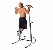 Stamina Power Tower Fitness Station Gym Home Chin Pull Up Dip Exercise Push Bar