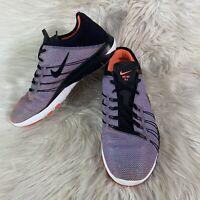 Nike Free TR 6 Women's Running Shoes 833424-006 Athletic Black Orange Size 9.5