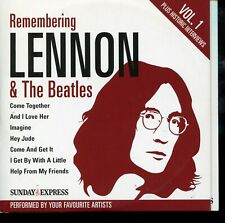Remembering Lennon & The Beatles - Vol 1  / Newspaper Promo CD