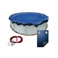 Pooltux 18' Winter Above Ground Round Pool Cover 10 YR Warranty