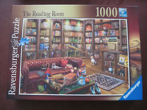 Ravensburger THE READING ROOM by Eduard - 1000 piece puzzle Complete