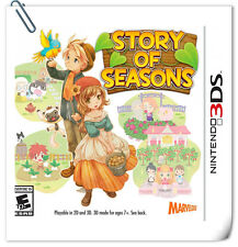 3DS Nintendo Story of Seasons Strategy Xseed Games