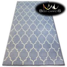 "MODERN DESIGNS & CHEAP BCF RUGS grey TRELLIS ""BASE"" LARGE SIZE Best-Carpets"