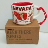 Starbucks Nevada Mini BEEN THERE Ornament 2019 Coffee Mug 2oz Demitasse Tahoe