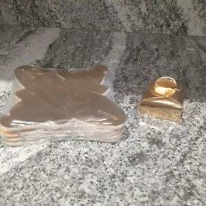 Job lot of 50 gold wedding favour boxes tortina gift boxrd