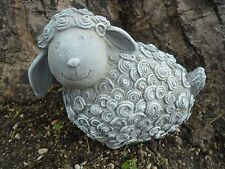 Latex with plastic backup concrete plaster curly sheep lamb mold