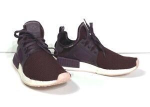 Women's 10 ADIDAS NMD XR1 Dark Burgundy Pk -BY9820- Running Sneakers
