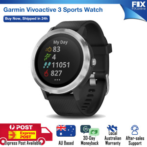 Garmin Vivoactive 3 Smart Watch with GPS and Built-in Sports App Running Fitness