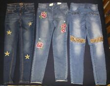 Lot of 3, Justice, Girls size 14, mid rise jeggings, 1 is Nwt